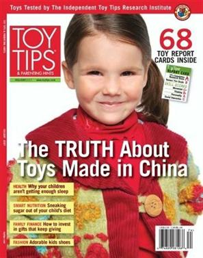 TOY TIPS and Parenting Hints Magazine